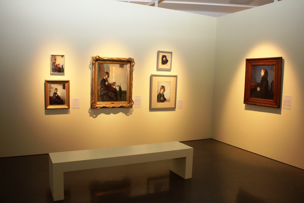 One of Denmark's Most Important Painters Visits Lillehammer