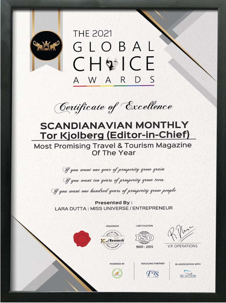 Scandinavian Monthly is Getting Attention