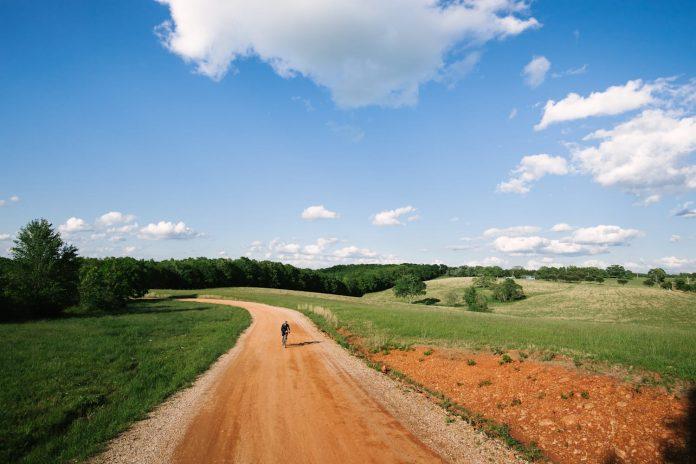 Gravel Road Biking in Sweden