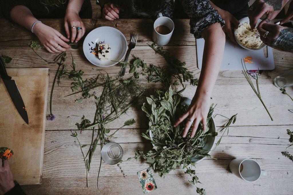 Scandinavian herbs